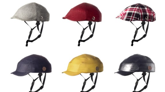 Jockey caps, what jockey caps? A similar concept but this time by Closca, these foldable cycle helmets come in an array of different fabrics so you can keep it chic in the cycle lane.