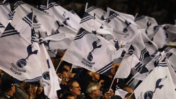 """Tottenham Hotspur fans have seen the term """"Yid"""" used as a discriminatory term against them."""