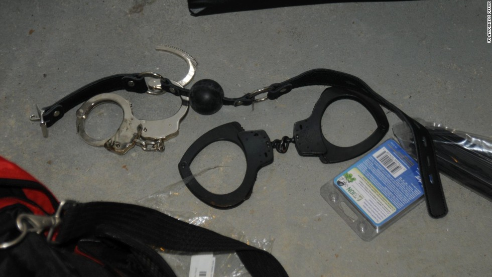 Handcuffs, castrating tools, and scalpels are just a few of the tools he apparently kept in his home.
