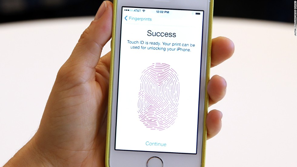 The iPhone 5S features Touch ID, a fingerprint scanner that users may use to replace a passcode. Reviewers say that, while it may seem gimmicky, the feature is actually a nice upgrade.