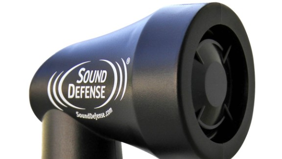 It may look like a hairdryer but in fact the Sound Defense K9 is oh so much more: it can keep you safe from pursuing dogs. By emitting a high frequency audio signal that focuses in on sensitive canine ears, the device will keep excitable dogs at bay (but don