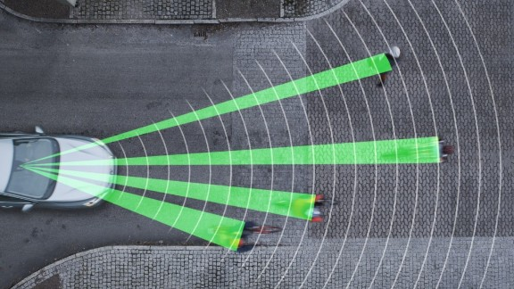 This one's for cars rather than bikes but it's still a great tool for safety on the roads. Volvo recently won a 'Techies' award for their Cyclist Detection System, which alerts drivers to nearby cyclists and automatically applies the brakes if they get too close.