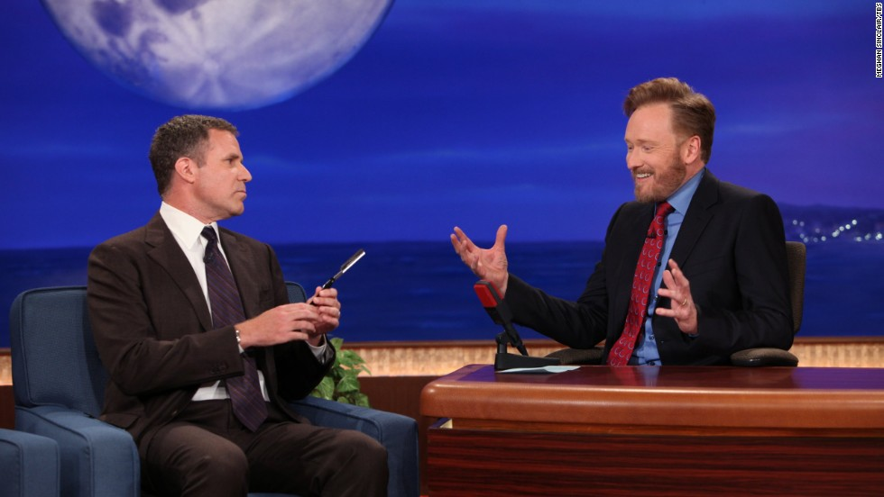 "Conan O'Brien's ""I've been fired!"" beard briefly returned again in 2011, and ever loyal guest Will Ferrell made a huge fuss over shaving it. The Osama bin Laden raid had just happened, so Ferrell claimed the jubilant people in the streets were in reaction to the upcoming beard shaving."