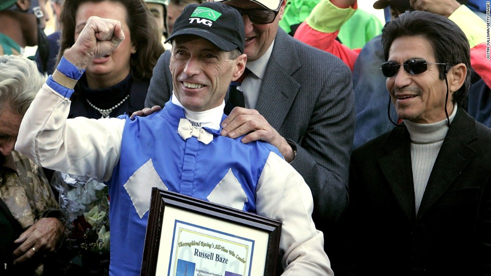 Baze, who celebrated alongside Pincay, has gone on to more success. He has recorded 400 winners in a calendar year on 13 separate occasions, the last time in 2009. No other jockey has managed the feat more than three times.
