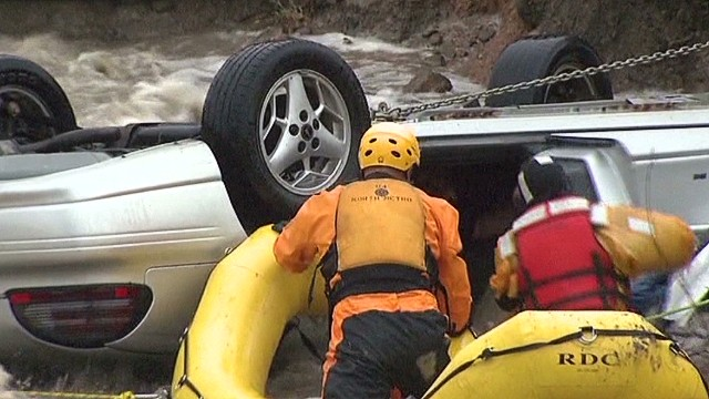 Rescuer: We hoped for best in flood