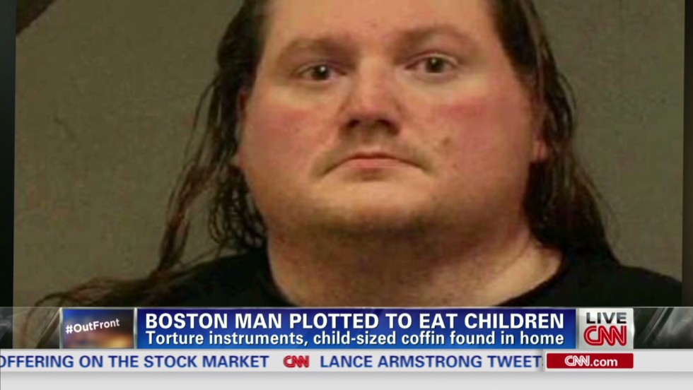 Man who plotted to kill and eat children gets more than 26 years - CNN