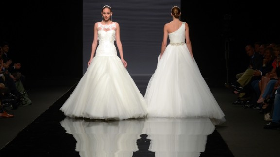 A bride may have dreamed of a frothy, fancy designer dress since childhood, but many come to regret the expense and the discomfort of wearing it all night. Plenty of brides say they're just as happy having an off-the-rack or sample dress altered so it fits perfectly.