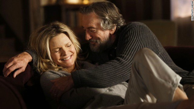 "Michelle Pfeiffer star as Belle Blake and Robert De Niro stars as Fred Blake/Giovanni Manzoni in ""The Family."""