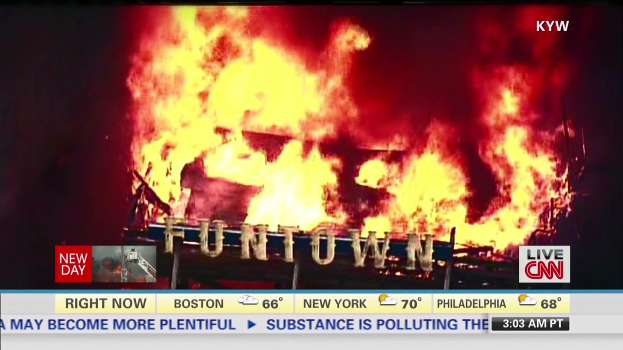 Unthinkable' fire wrecks NJ boardwalk - CNN Video