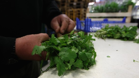 The Food and Drug Administration has issued a ban on some cilantro imported from Mexico after an investigation to determine the cause of hundreds of reported intestinal illnesses in the United States dating back to 2012. People infected with the parasite Cyclospora cayetanensis experienced watery diarrhea, nausea, bloating and cramping. Click here for tips on how to keep your food safe.