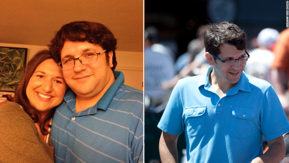 Dion Almaer, 37, has lost 115 pounds since September 2012 by experimenting with different diet and exercise methods.
