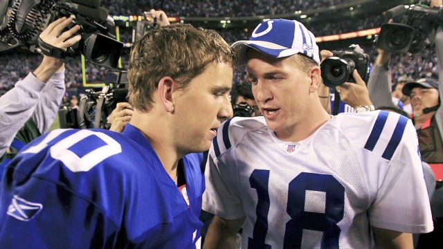 NFL sibling rivalry: Manning vs. Manning