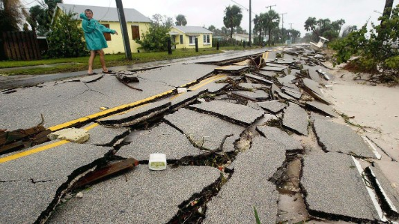 On September 6, 2004, Frances made landfall in the Florida Big Bend region as a tropical storm, after peaking in the Caribbean as a Category 4 hurricane with 145 mph winds. The storm spawned more than 100 tornadoes throughout the southeastern and mid-Atlantic states. Frances was blamed for eight deaths -- seven in the United States and one in the Bahamas. U.S. damage was estimated around $8.9 billion.