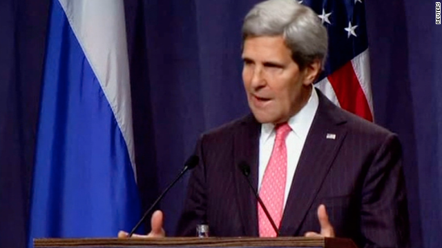Kerry brings Syria message to France