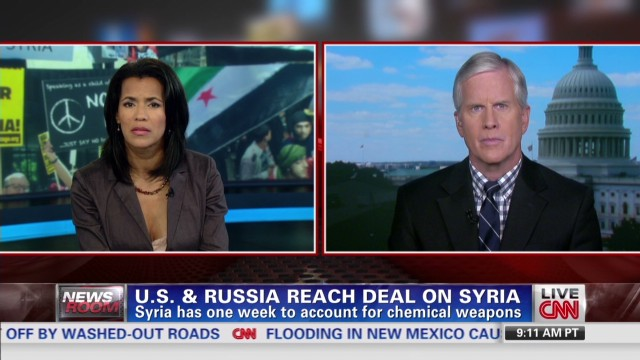 U.S. and Russia reach deal on Syria