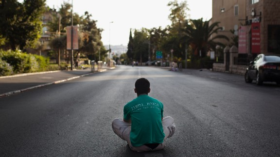 During the holiday, the streets in Israel's cities are nearly empty in respect of the holiday. Businesses, public transportation and even Israeli television and radio broadcasts are suspended, according to Israel's tourist information website.