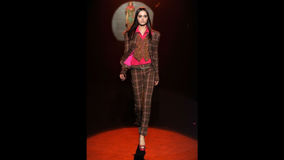 Betsey Johnson's fall 2012 show during New York Fashion Week in February 2012.