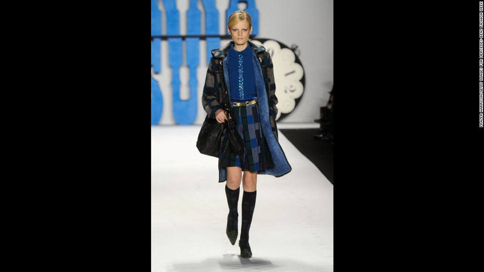 Anna Sui's fall 2012 show during New York Fashion Week in February 2012.