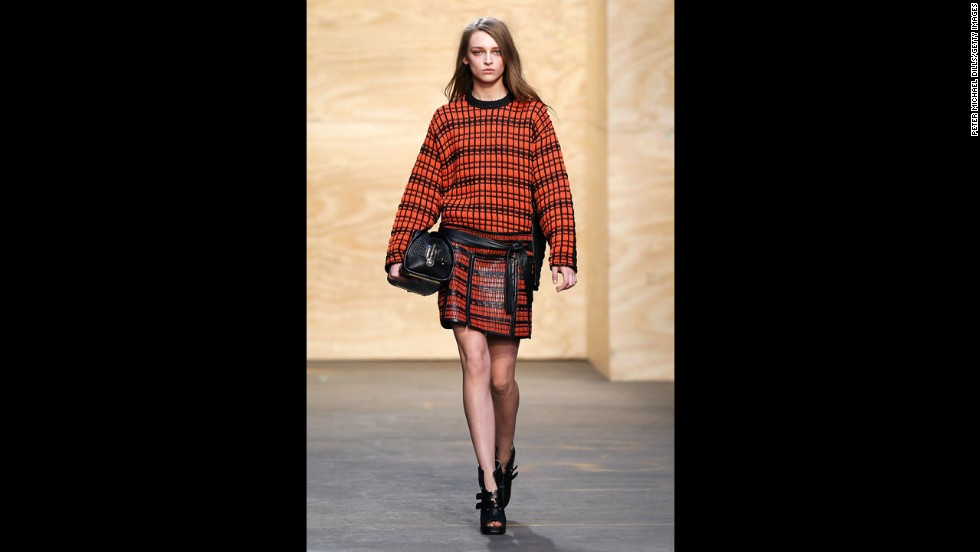 The Proenza Schouler fall 2012 show during New York Fashion Week in February 2012.