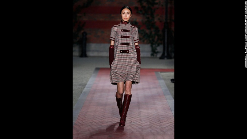 Tommy Hilfiger's fall 2012 show during New York Fashion Week in February 2012.