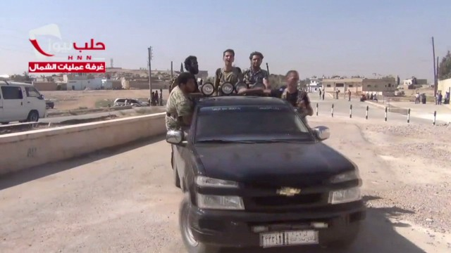 Concern over jihadists in Syria
