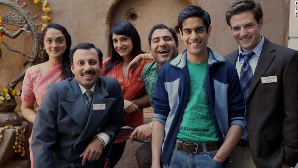 "The comedy ""Outsourced"" was set in a call center in India and called racist by some critics. The show ran for one season from 2010 to 2011."