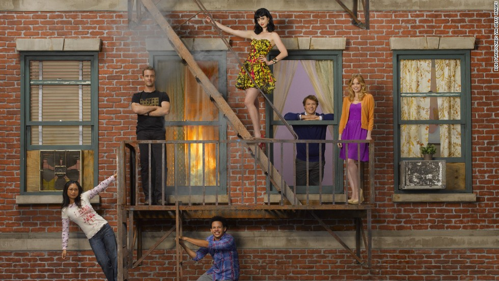 "ABC's ""Don't Trust the B---- in Apartment 23"" had the original title toned down from actually using the ""b word"" so as not to be offensive. It aired from april 2012 to January 2013."