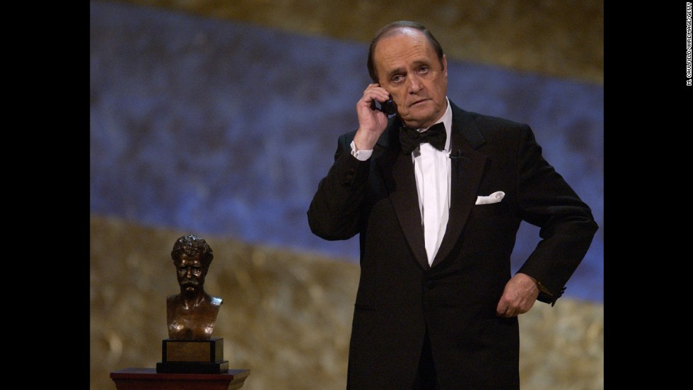 Newhart won the prestigious Mark Twain Prize for American Humor in 2002.