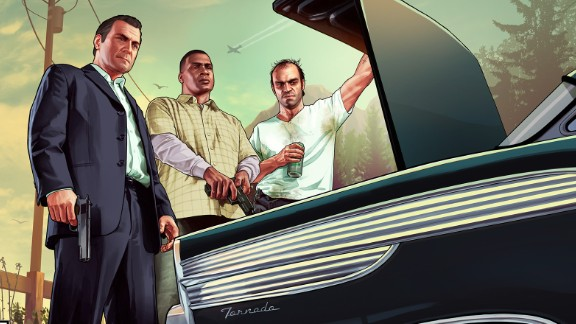 """Controversy has swirled around male-centric video games such as """"Grand Theft Auto V."""""""