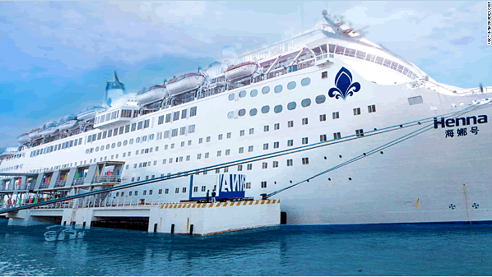 Impounded Chinese Cruise Ship Finally Leaves South Korea CNN - Chinese cruise ship