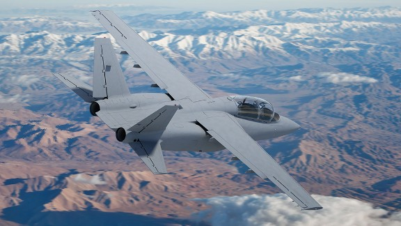 Textron AirLand hopes to sell the Pentagon on the Scorpion's low operational cost.
