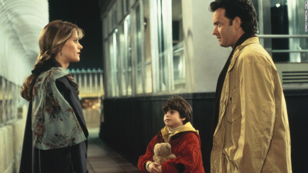 "The 1993 film ""Sleepless in Seattle"" brought together Annie Reed, a Baltimore journalist played by Meg Ryan, and Sam Baldwin, a single dad from Seattle played by Tom Hanks. Their relationships played out through radio, letters, airport sightings and a date secretly set up by young Jonah Baldwin, played by Ross Malinger."