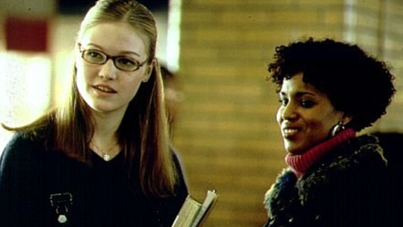 "Washington plays street-smart teen mom Chenille Reynolds opposite Julia Styles in the 2001 film ""Save the Last Dance."""