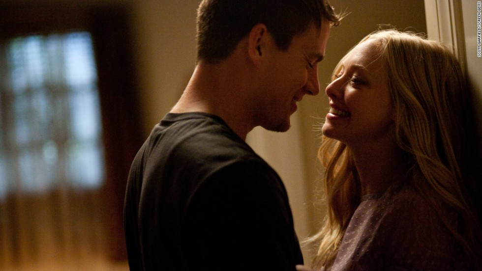 "Channing Tatum and Amanda Seyfried star as John and Savannah in the 2010 movie ""Dear John,"" an adaptation of another Nicholas Sparks novel. After a short, intense romance, John, a member of the military, is deployed overseas, and the couple exchanges letters."