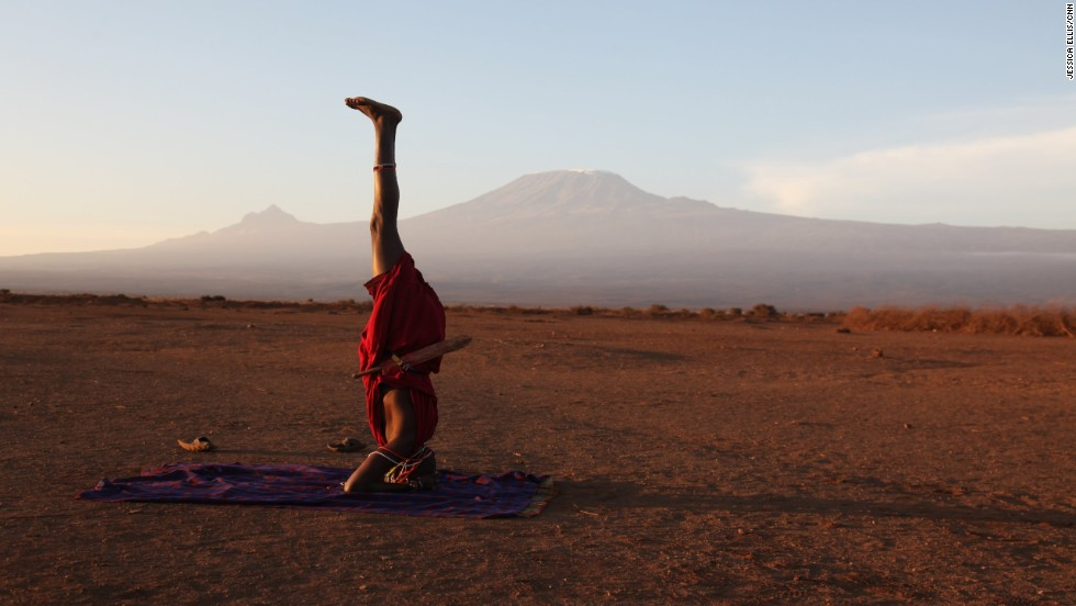 Yoga is spreading across Kenya thanks to the Africa Yoga Project. Even the Maasai tribe is starting to embrace this practice from another culture.