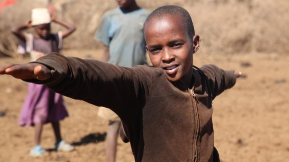 Members of the Maasai community in Alasiti village are embracing yoga and participating in classes.