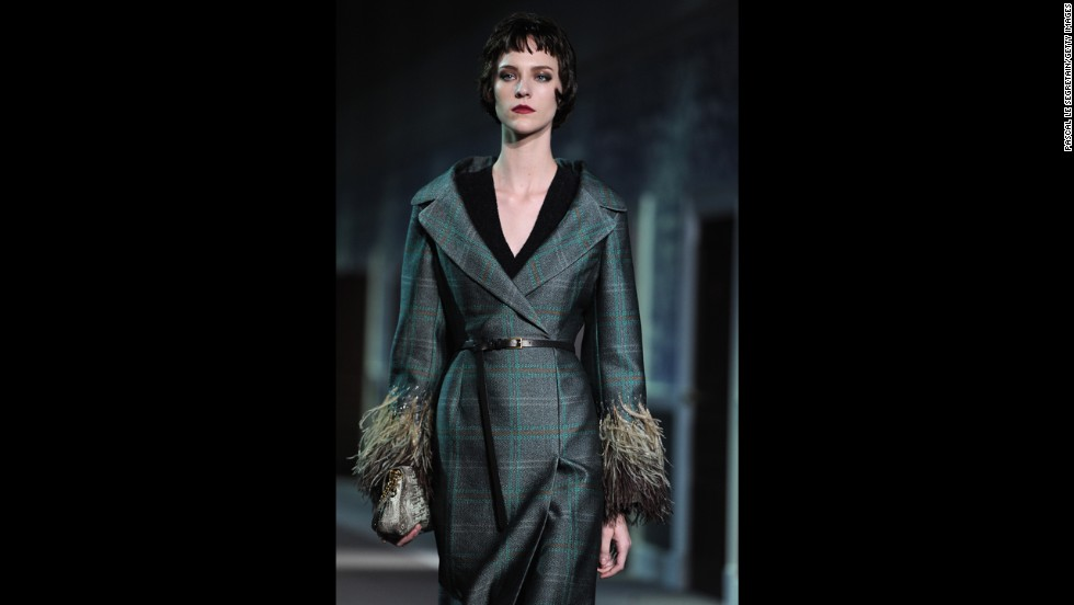 Although plaids have been around since at least 1500 BC, many fashion designers continue to incorporate them into modern looks. Here's a plaid coat from Louis Vuitton's fall/winter 2013 ready-to-wear show at Paris Fashion Week in March.