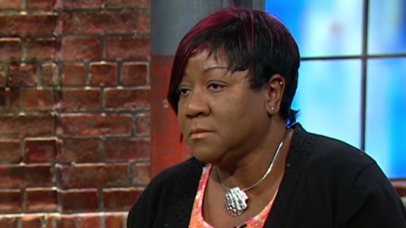"""Denise Robinson said she saw """"a cold stare"""" in the gunman's face."""