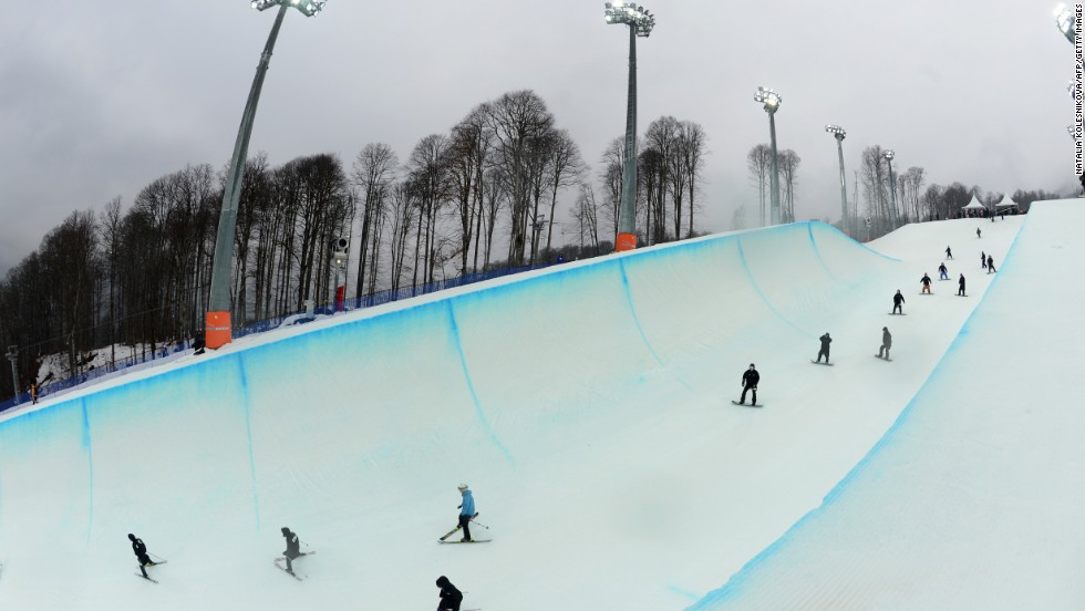 "The snowboarding and freestyle competitions will take place at the ""Rosa Khutor"" Extreme Park in the Mountain Cluster. The venue has already been used for World Cup events and is considered one of the top facilities in the world."