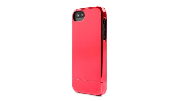 """<a href=""""http://goincase.com/shop/incase-chrome-slider-case-for-iphone-5"""" target=""""_blank"""" target=""""_blank"""">Incase Chrome Slider Case</a> metallic cases are an option for those who want a new gold iPhone, but don't want to pay big bucks."""