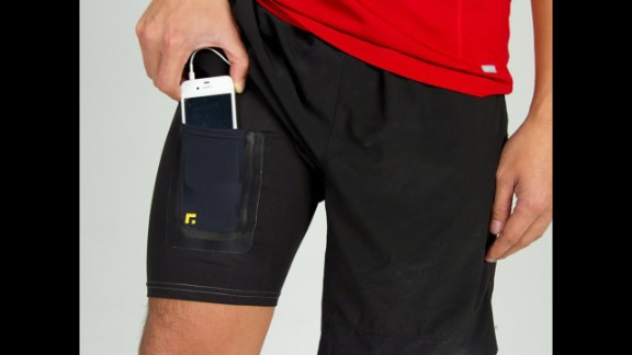 """These iron-on cases by <a href=""""http://www.underfuse.com/?utm_source=Brit&utm_medium=Post&utm_campaign=iPhoneWallets"""" target=""""_blank"""" target=""""_blank"""">Underfuse</a> were made to attach to workout clothes so that you can run and cycle with two free hands."""
