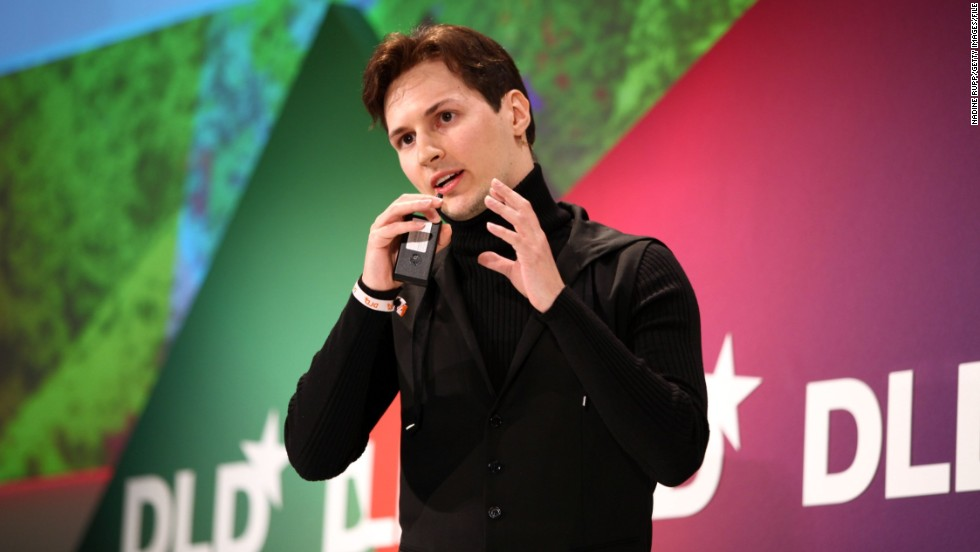 "Sochi will be a big deal for Russia's social media platforms such as VKontakte. Its founder Pavel Durov, pictured, has been described as ""Russia's Mark Zuckerberg."""