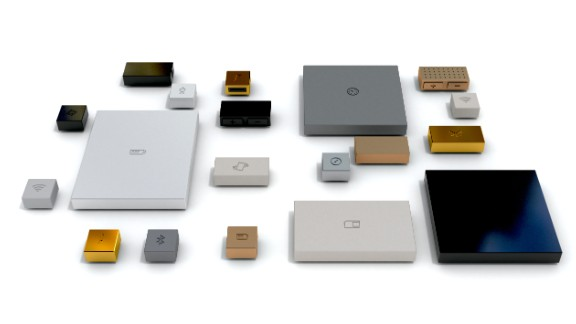 Phonebloks will be composed of modular pieces or 'bloks' which click together like Lego