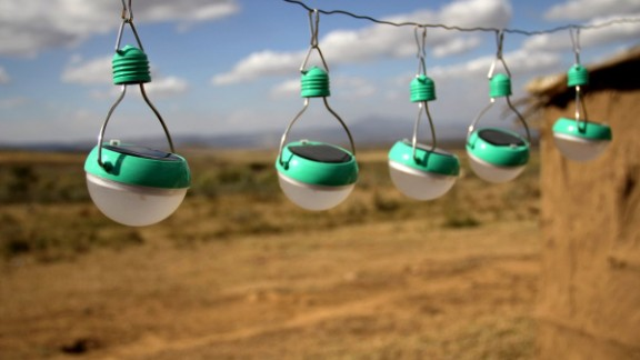 Already a huge hit in the developing world, Nokero's solar-powered light bulbs, which glow just as intensely as a standard light bulb, are the simplest way to reduce both energy waste and your electricity bill.  Compiled by Monique Rivalland