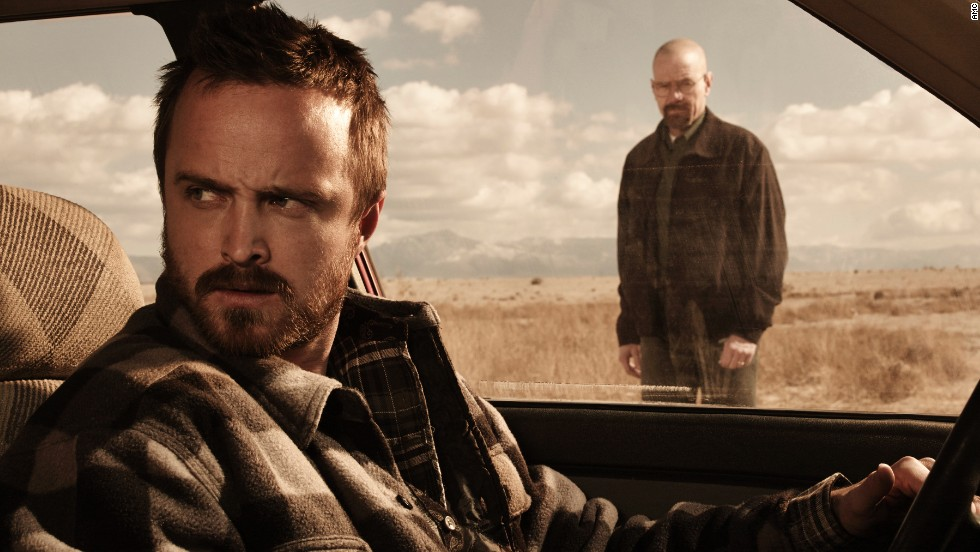 """Breaking Bad,"" which ended its five seasons in triumphant fashion, had plenty of shocking, gotta-tweet-this moments -- especially in its dramatic final episodes."