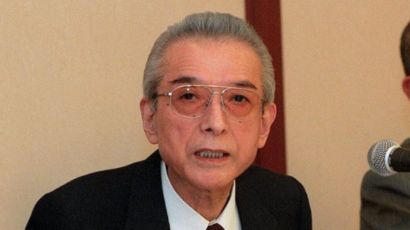 Hiroshi Yamauchi, former longtime president of Nintendo.