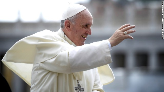 Pope: Church can't interfere with gays