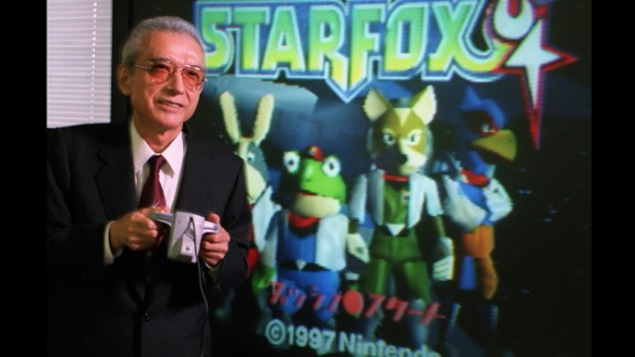 Hiroshi Yamauchi, who built Nintendo from a small card company into a global video-game empi