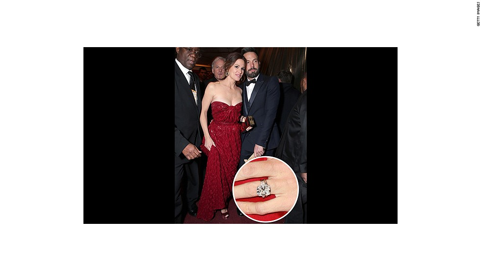 The actor-turned-award-winning-director declared his love for wife Jennifer Garner with this 4.5-carat gem. <br />