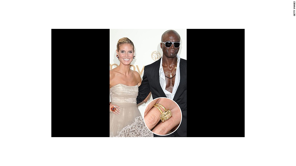 Despite this gorgeous yellow 10-carat engagement ring (given to Heidi Klum on top of a glacier!), Klum and Seal's marriage sadly ended in 2012.<br />